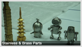 Stainless & Brass Parts